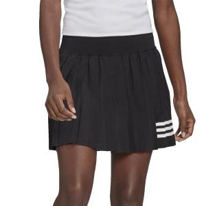 Gonne e Pantaloncini Tennis adidas Club Pleated Gonna  Black/White GL5468
