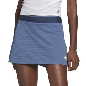 Gonne e Pantaloncini Tennis adidas Club Primegreen Gonna  Crew Blue/White GL5495