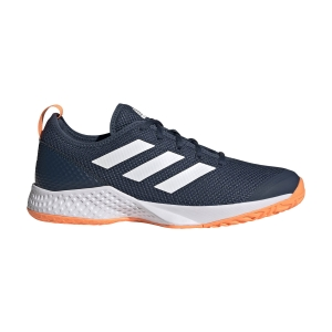 Scarpe Tennis Uomo adidas Court Control  Crew Navy/Ftwr White/Screaming Orange FZ3648