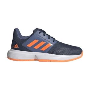 Scarpe Tennis Junior Adidas CourtJam Bambino  Crew Navy/Screaming Orange/Crew Blue FX1491