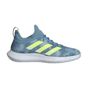 Men`s Tennis Shoes Adidas Defiant Generation  Hazy Blue/Solar Yellow/Ftwr White FX7748