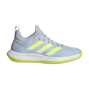 Women`s Tennis Shoes Adidas Defiant Generation  Halo Blue/Solar Yellow/Ftwr White FX7752