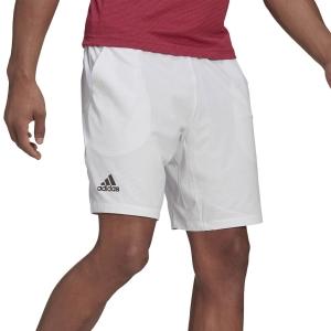 Men's Tennis Shorts adidas Ergo Primegreen 7in Shorts  White/Black GH7609