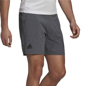 Men's Tennis Shorts adidas Ergo Primegreen 7in Shorts  Dark Grey Heather/White GL5398