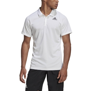 Polo Tenis Hombre Adidas Freelift HEAT.RDY Polo  White FT5803
