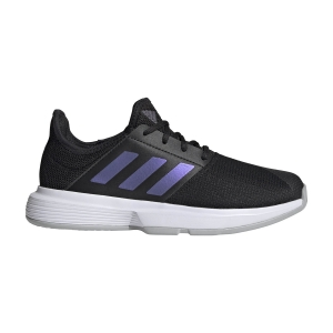 Women`s Tennis Shoes Adidas GameCourt  Core Black/Grey Two FY3378