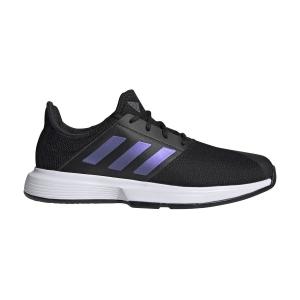 Men`s Tennis Shoes Adidas GameCourt  Core Black/Ftwr White FX1553