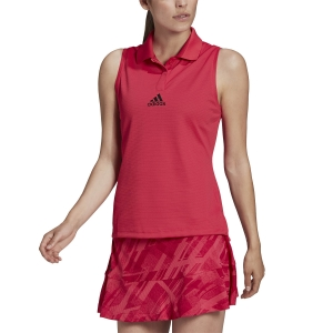 Women`s Tennis Tanks Adidas Match HEAT.RDY Tank  Power Pink GG3786