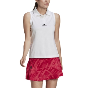 Top de Tenis Mujer Adidas Match HEAT.RDY Top  White FT6412