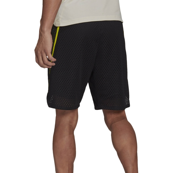 adidas Next Level HEAT.RDY 2 in 1 9in Shorts - Black/Acid Yellow