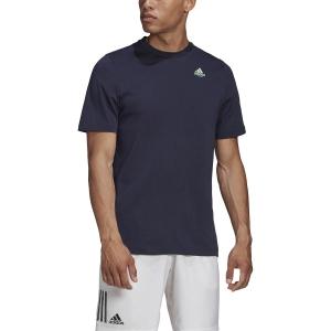 Men's Tennis Shirts Adidas Padel TShirt  Legend Ink GD9238