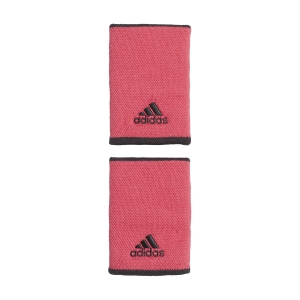 Tennis Wristbands Adidas Large Wristbands  Power Pink/White GH4509