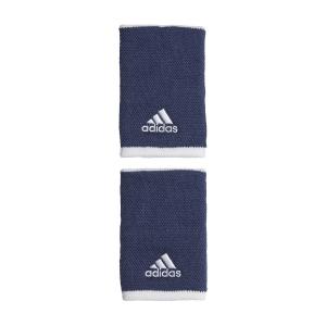 Tennis Wristbands Adidas Large Wristbands  Tech Indigo/White GE1984