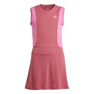 Tennis Dress Girl adidas Pop Up Dress Girl  Wild Pink/Screaming Pink GK3013