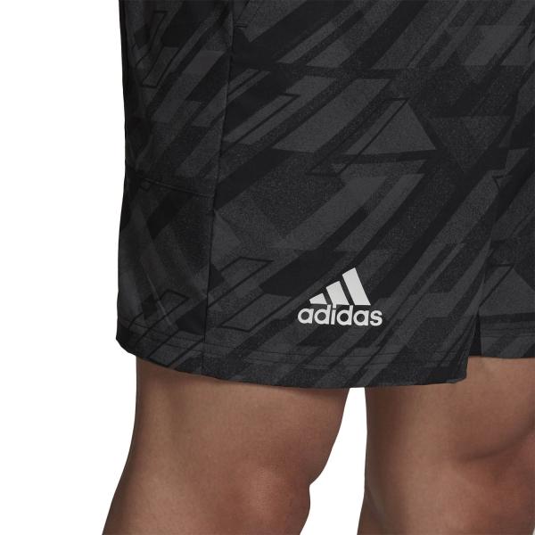 Adidas Print 7in Shorts - Black