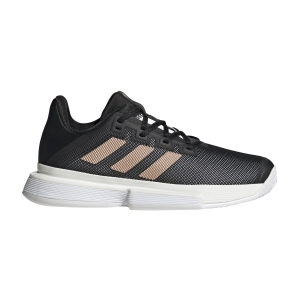 Calzado Tenis Mujer Adidas SoleMatch Bounce  Core Black/Copper Met/Ftwr White FU8125