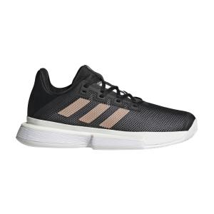 Women`s Tennis Shoes Adidas SoleMatch Bounce  Core Black/Copper Met/Ftwr White FU8125
