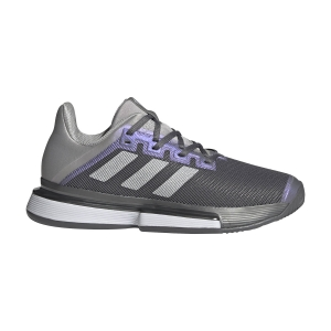 Scarpe Tennis Donna Adidas SoleMatch Bounce  Grey Four/Silver Metallic/Grey Two FX1742