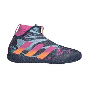 Scarpe Tennis Uomo Adidas Stycon  Crew Navy/Screaming Pink/Screaming Orange FY3247