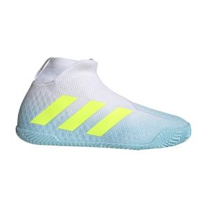 Men`s Tennis Shoes Adidas Stycon  Hazy Sky/Solar Yellow/Ftwr White FY3248