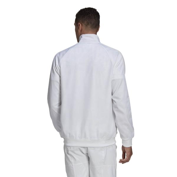 Adidas Uniforia Jacket - White/Reflective Silver/Dash Grey