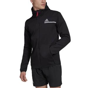 Men's Tennis Shirts and Hoodies Adidas ZNE Sport Hoodie  Black GM5244