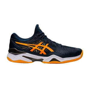 Calzado Tenis Hombre Asics Court FF 2 Clay  French Blue/Amber 1041A082402