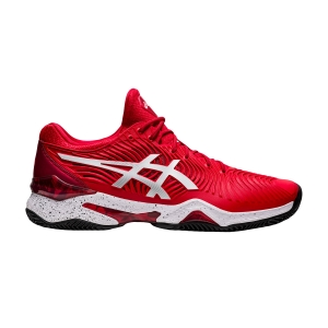 Men`s Tennis Shoes Asics Court FF Novak Clay L.E.  Classic Red/White 1041A276960