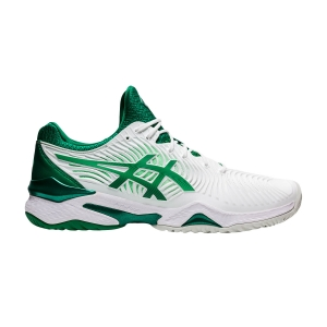 Men`s Tennis Shoes Asics Court FF Novak  White/Kale 1041A089104