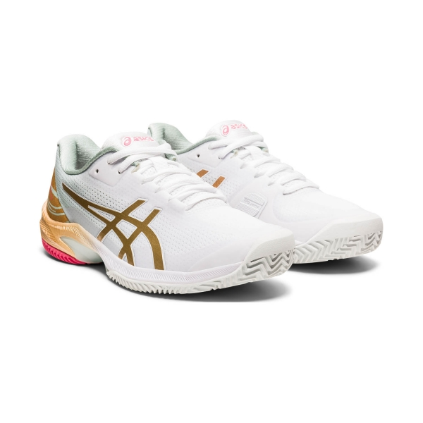 Asics Court Speed FF Clay L.E. - White/Champagne