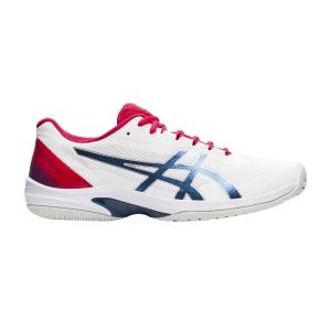 Men`s Tennis Shoes Asics Court Speed FF  White/Mako Blue 1041A092105