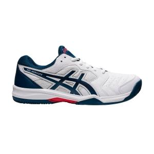 Men`s Tennis Shoes Asics Gel Dedicate 6 Clay  White/Mako Blue 1041A080104