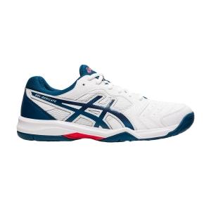 Men`s Tennis Shoes Asics Gel Dedicate 6  White/Mako Blue 1041A074104