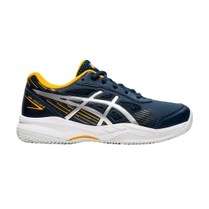 Scarpe Tennis Junior Asics Gel Game 8 GS Clay/OC Bambino  French Blue/Pure Silver 1044A024400