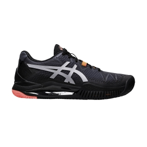 Calzado Tenis Mujer Asics Gel Resolution 8 Clay L.E.  Black/Sunrise Red 1042A123010