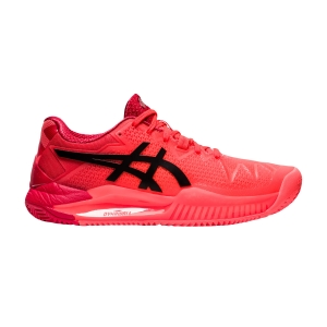 Scarpe Tennis Donna Asics Gel Resolution 8 Clay Tokyo  Sunrise Red/Eclipse Black 1042A133701