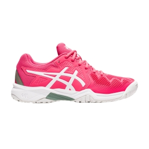 Junior Tennis Shoes Asics Gel Resolution 8 GS Boy  Pink Cameo/White 1044A018702