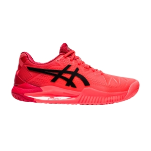 Calzado Tenis Mujer Asics Gel Resolution 8 Tokyo  Sunrise Red/Eclipse Black 1042A131701