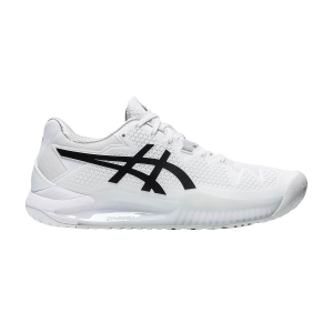 Scarpe Tennis Donna Asics Gel Resolution 8  White/Black 1042A072101