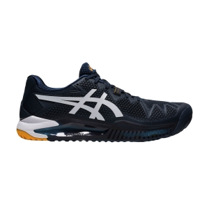 Men`s Tennis Shoes Asics Gel Resolution 8  French Blue/White 1041A079403
