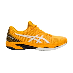 Calzado Tenis Hombre Asics Solution Speed FF 2 Clay  Amber/White 1041A187800
