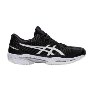 Scarpe Tennis Uomo Asics Solution Speed FF 2 Clay  Black/White 1041A187001