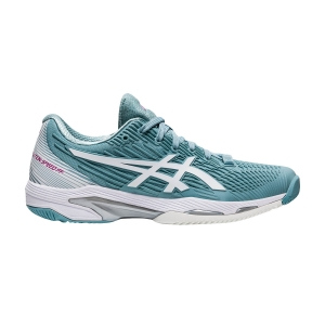 Scarpe Tennis Donna Asics Solution Speed FF 2  Smoke Blue/White 1042A136400