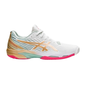 Scarpe Tennis Donna Asics Solution Speed FF 2 L.E.  White/Champagne 1042A142100