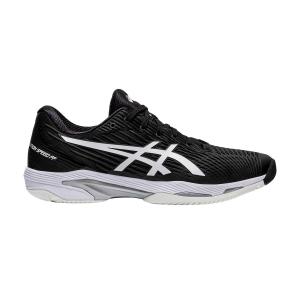 Men`s Tennis Shoes Asics Solution Speed FF 2  Black/White 1041A182001