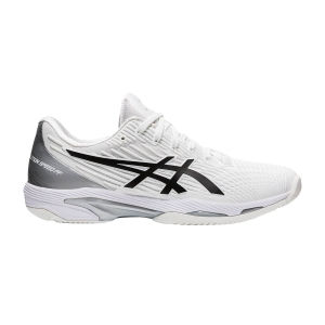 Men`s Tennis Shoes Asics Solution Speed FF 2  White/Black 1041A182100