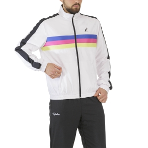 Men's Tennis Suit Australian 3 Lines Suit  Bianco/Nero TEUTU0002002