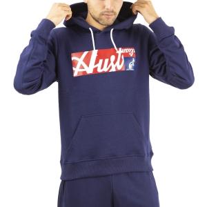 Camisetas y Sudaderas Hombre Australian All Logo Print Sudadera  Blu Cosmo SWUFE0004842