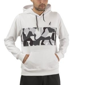 Men's Tennis Shirts and Hoodies Australian Camo Printed Hoodie  Bianco SWUFE0005002