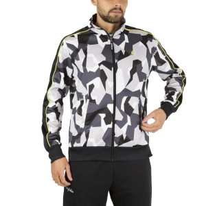 Men's Tennis Jackets Australian Camo Printed Jacket  Bianco SWUGC0004002